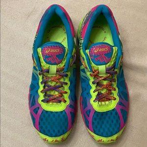 ASICS Gel-Noosa Tri 9 Teal Lime Pink Sneakers
